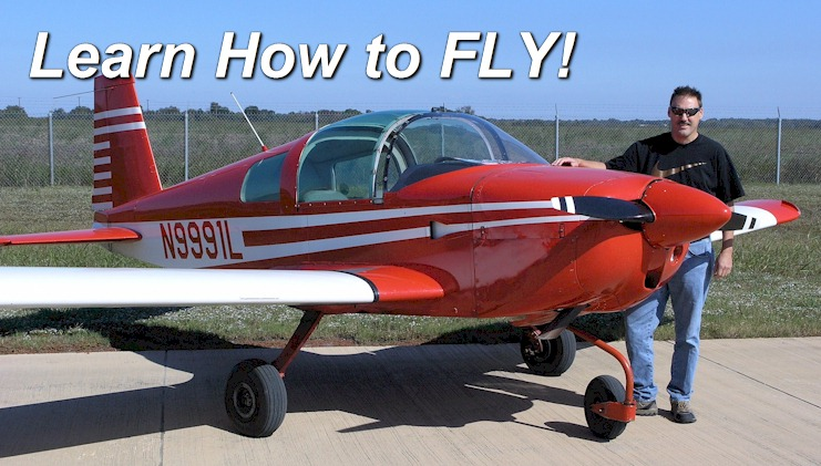 Learn how to fly an airplane - flight training