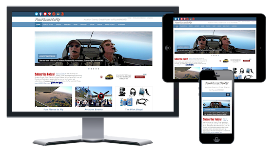 Aviation Responsive Web Design Aviation Website