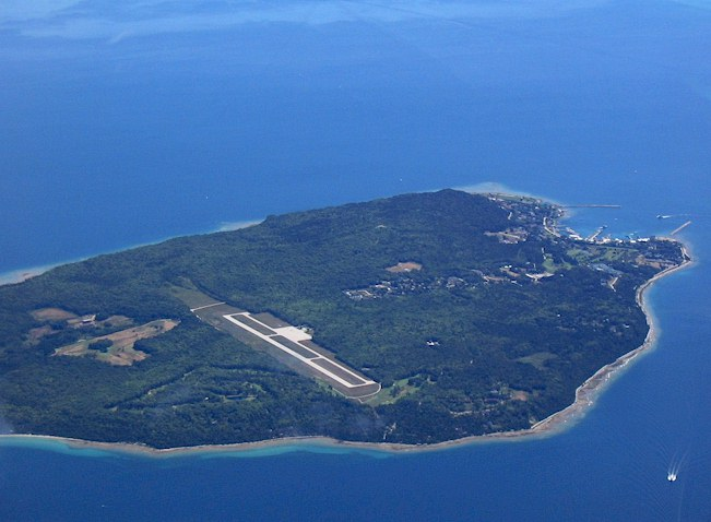 mackinac island airport  mackinac island  mi