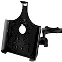 The RAM yoke clamp mount for the Apple iPad will fit rails from 0.625